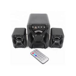 KISONLI SPEAKERS U-2500BT, BLUETOOTH, 5W+3W*2, USB, BLACK