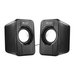 KISONLI SPEAKERS S-444, 2x3W USB BLACK