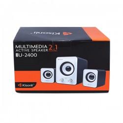 KISONLI SPEAKERS U-2400, 5W+3Wx2 USB