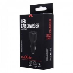 MAXLIFE MXCC-01 UNIVERSAL CAR CHARGER 1XUSB 1A