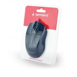 GEMBIRD MUS-3B-01 Οπτικό ποντίκι, μαύρο