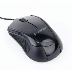 GEMBIRD MUS-3B-02 Οπτικό ποντίκι, μαύρο