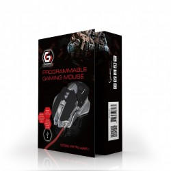 GEMBIRD MUSG-05 PROGRAMMABLE GAMING MOUSE 4000DPI RGB