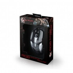 GEMBIRD MUSG-07 PROGRAMMABLE GAMING MOUSE 3200DPI RGB