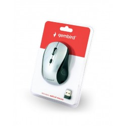 GEMBIRD MUSW-4B-02-BS Οπτικό ποντίκι, USB, μαύρο