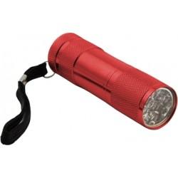 ESPERANZA EOT004M MINI ALUMINUM LED TORCH ALTAIR RED
