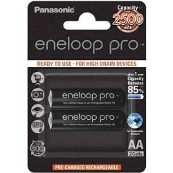 PANASONIC ENELOOP PRO BK-3HCDE/2BE AA 2500MAH 2ΤΕΜ