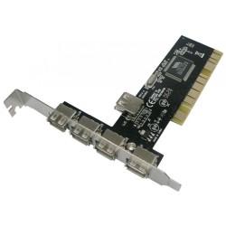 PCI Card PCI σε 4+1 USB 2.0 No brand / DEL-17453