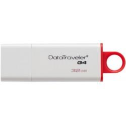 KINGSTON DTIG4/32GB DATATRAVELER G4 32GB USB3.0 FLASH DRIVE RED