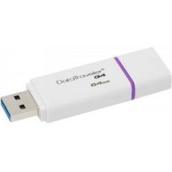 KINGSTON DTIG4/64GB DATATRAVELER G4 64GB USB3.0 FLASH DRIVE VIOLET