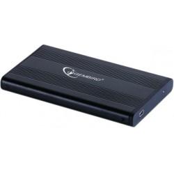 GEMBIRD EE2-U2S-5 Εξωτερικό κουτί USB 2.0 για 2,5 '' SATA σκληρούς δίσκους HDDs, υποδοχή mini-USB 5pin