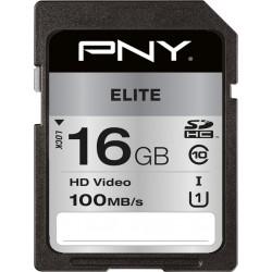 PNY ELITE SDHC 16GB CLASS 10 U1
