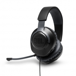 JBL QUANTUM 100, OVER-EAR WIRED GAMING HEADSET BLACK