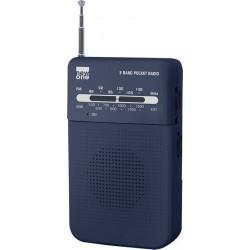 NEWONE MUSE R206BL POCKET RADIO FM/MW