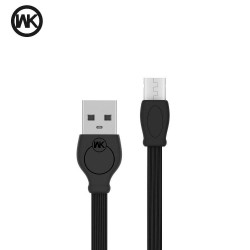 WK WDC-023 DESING CABLE USB FAST SPEED MICRO USB 3M BLACK