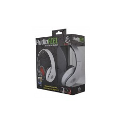 REBELTEC AUDIOFEEL2 HEADPHONES WITH MIC BLACK