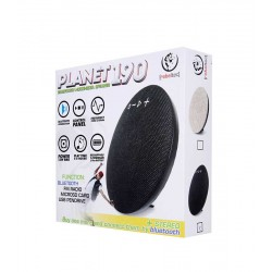 REBELTEC PLANET 190 BLUETOOTH MULTIMEDIA SPEAKER BLACK