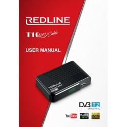 Redline T10 Επίγειος Ψηφιακός Αποκωδικοποιητής MPEG4 DVB-T2