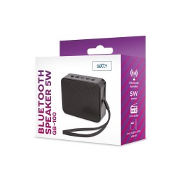 SETTY BLUETOOTH SPEAKER 5W GB-100 BLACK