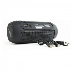 GEMBIRD SPK-BT-05 BLUETOOTH SPEAKER WITH LED LIGHT EFFECTS BLACK
