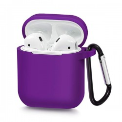 SILICONE CASE FOR AIRPODS TYPE 1 VIOLET