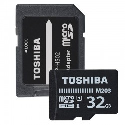TOSHIBA MICROSD 32 GB M203 UHS-I U1 WITH ADAPTER
