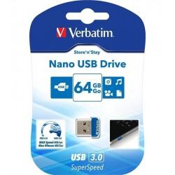 VERBATIM STORE n' STAY NANO 64GB USB 3.0