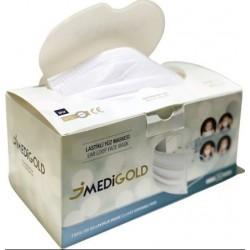 MEDiGOLD Medical - Ιατρική μάσκα / White / Συσκ. 50 τμχ
