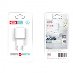 XO WALL CHARGER L73 WHITE 1USB 2,4A