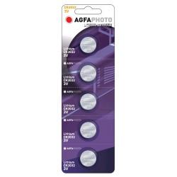 AgfaPhoto Lithium Coin Cell CR2032 B5