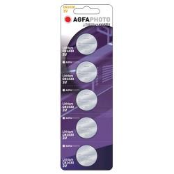 AgfaPhoto Lithium Coin Cell CR2430 B5