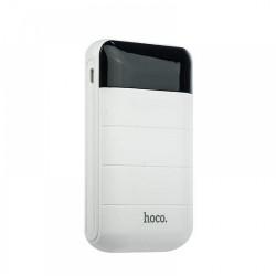 HOCO Power Bank 10000mAh With LCD Domon B29 White