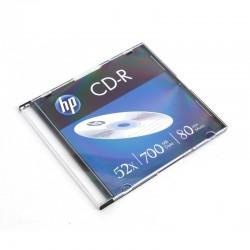 HP CD-R 700MB 52X SLIM CASE*1