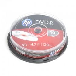 HP DVD-R 4.7GB 16X CAKE*10