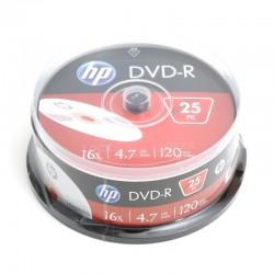 HP DVD-R 4.7GB 16X CAKE*25