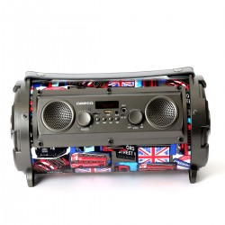 OMEGA OG72P BAZOOKA 5.25'' 16W SPEAKER BLUETOOTH V2.1 COLOR