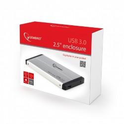 GEMBIRD EE2-U3S-2-S Κουτί σκληρού δίσκου 2.5'' , USB 3.0 , ασημί