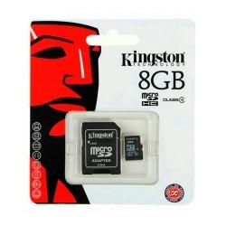 KINGSTON MICRO SD 8GB WITH ADAPTOR