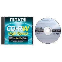 Maxell CD-RW 80 Min Rewritable ( SL / Case)