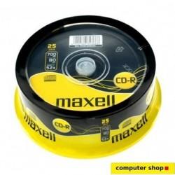 Maxell CD-R 700mb 52x (25 TUB)