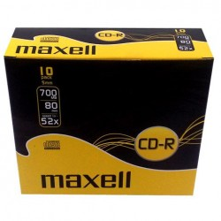 Maxell CD-R 700mb 52x (Slim Case)
