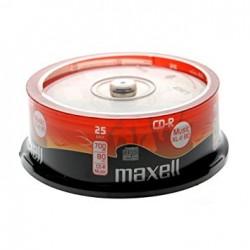 Maxell CD-R  80 Minute Audio  (25 Tub)