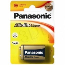 PANASONIC  6LR61 ALKALINE  9V  1BL