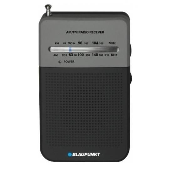 Blaupunkt PR3BK φορητό αναλογικό ραδιόφωνο AM/FM 0.3w RMS (2xAA)