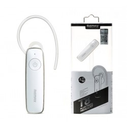 REMAX Bluetooth Headset - RB-T8 (multi-point + EDR) WHITE