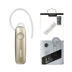 REMAX Bluetooth Headset - RB-T8 (multi-point + EDR) GOLD