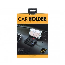 REMAX Car Holder -RC-FC1 - Mat+Cable BLACK